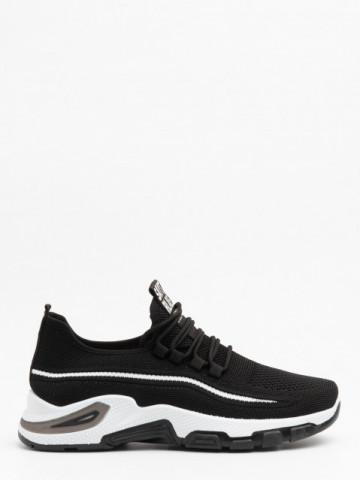 Pantofi sport cod 4228 Black/White
