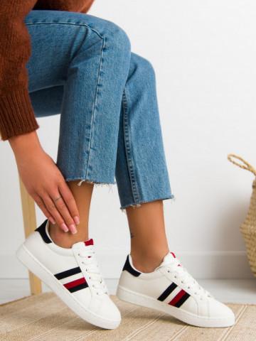 Pantofi sport cod 463 White/Red/Blue