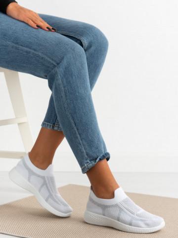 Pantofi sport cod 781-2 White