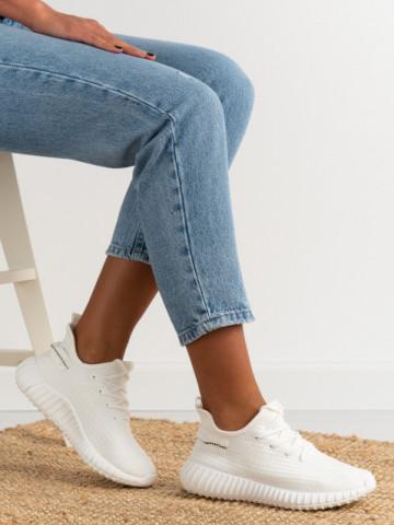 Pantofi sport cod 7817 White