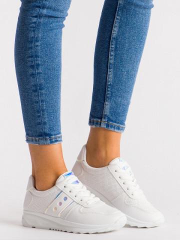 Pantofi sport cod 952-10 White