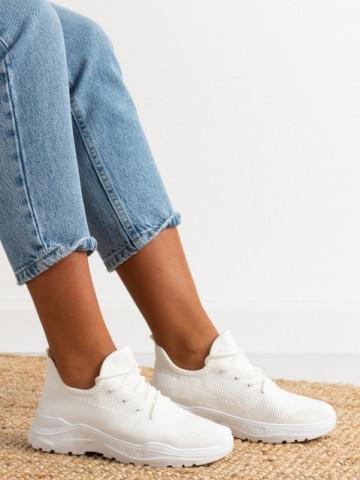 Pantofi sport cod A88-85 White