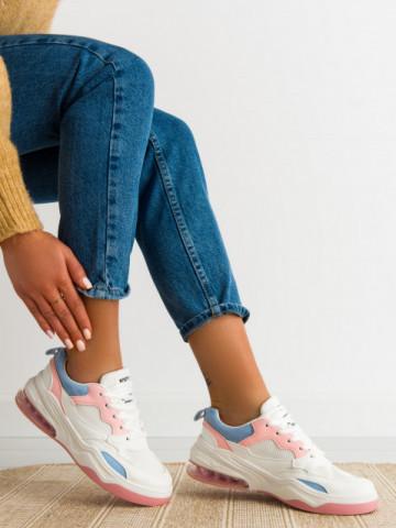 Pantofi sport cod AB01 White/Pink