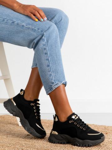 Pantofi sport cod AB826 Black