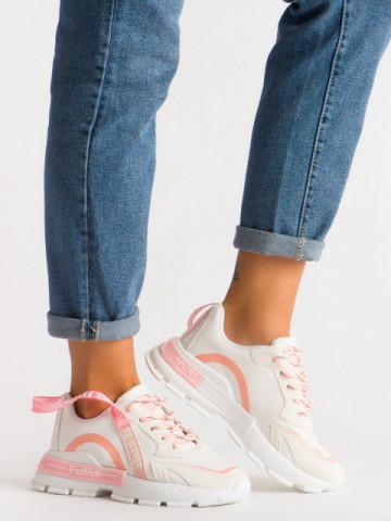 Pantofi sport cod B07 White