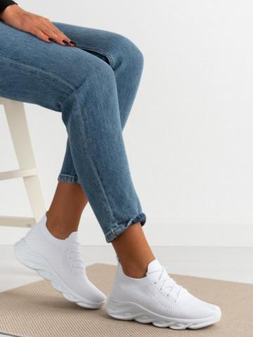Pantofi sport cod D082 White