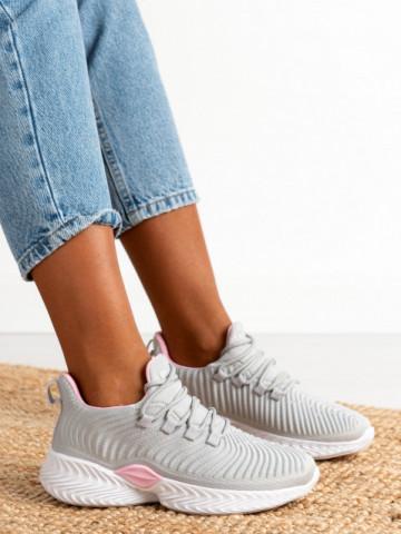 Pantofi sport cod DS8305 Grey