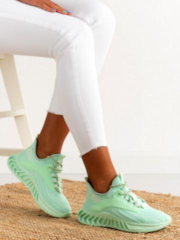 Pantofi sport cod E103 Green