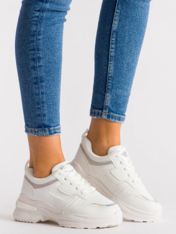 Pantofi sport cod H5 White