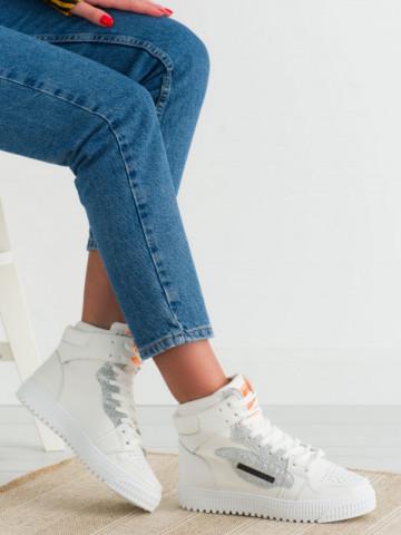 Pantofi sport cod LA139 Silver