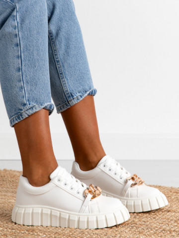 Pantofi sport cod S063 White