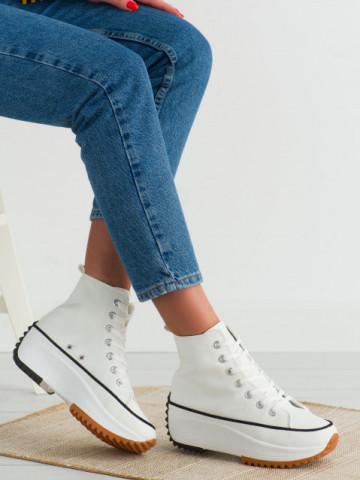 Pantofi sport cod VL136 White