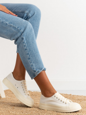 Pantofi sport cod ZM889 White