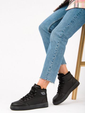 Pantofi sport imblaniti cod AJ30 Black