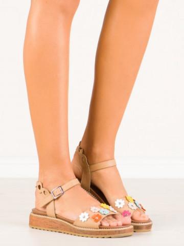Sandale cod 9154-14 Beige