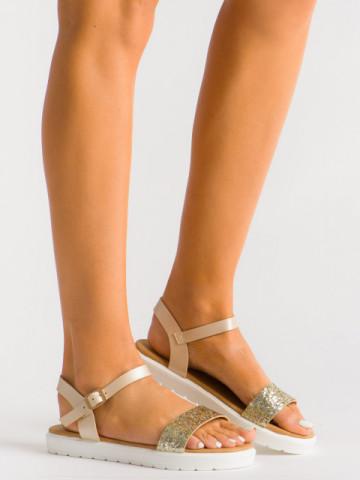 Sandale cod B29 Beige