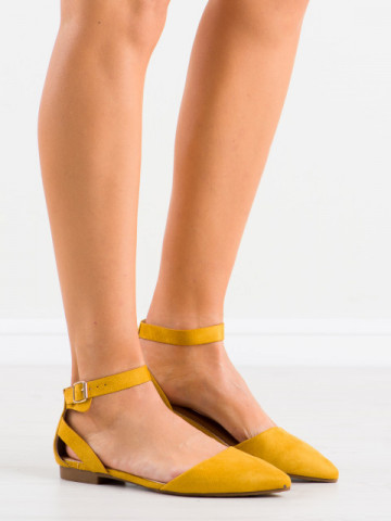 Sandale cod CL73 Yellow