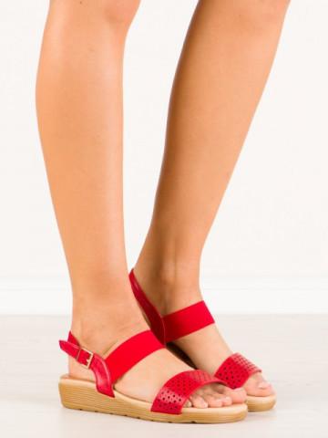 Sandale cod H9061 Rojo