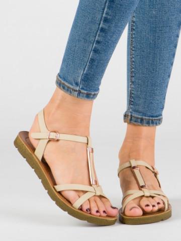 Sandale cod JK58 Beige