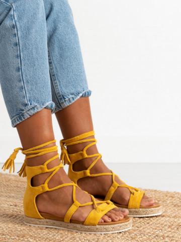 Sandale cod LE231 Yellow