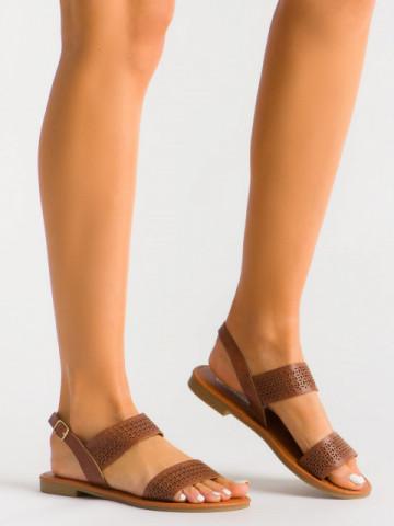 Sandale cod S060126Y Camel