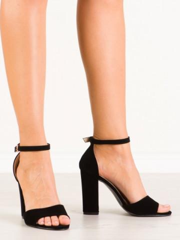 Sandale cu toc cod A10 Black
