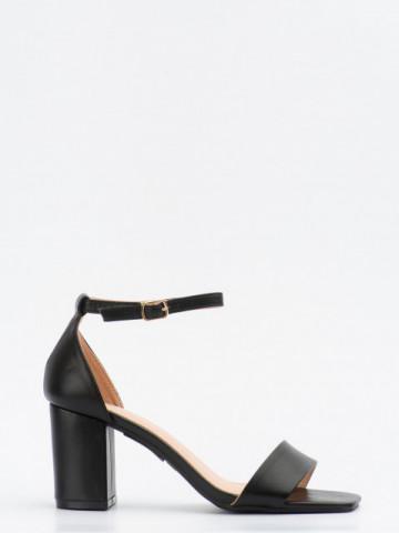 Sandale cu toc cod LL245 Black