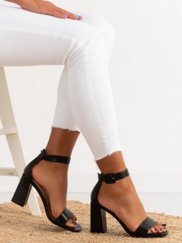 Sandale cu toc cod OD0228 Black