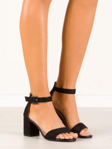 Sandale cu toc cod YBS39 Black