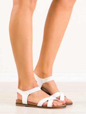 Sandale cod R3501 White