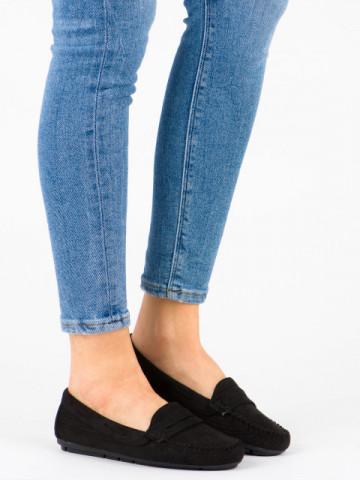 Pantofi casual cod 100-980 Black