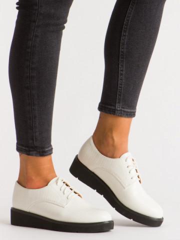 Pantofi casual cod 930-16 White