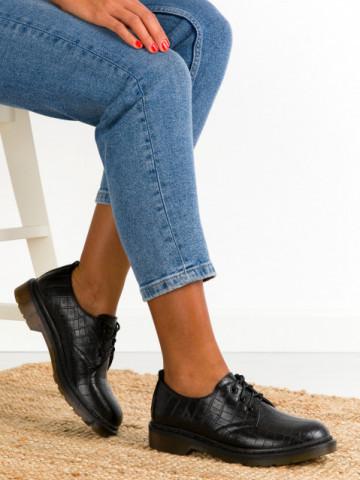 Pantofi casual cod D7676 Black