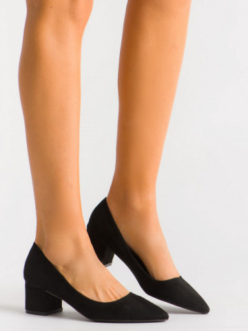 Pantofi cu toc cod 3837-1Y Black