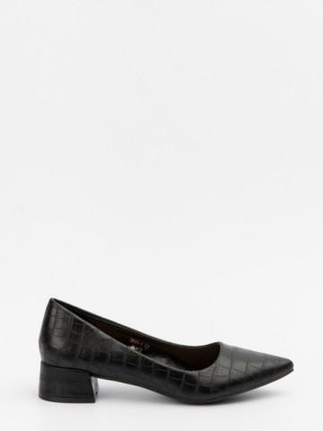 Pantofi cu toc cod 3845-1 Black