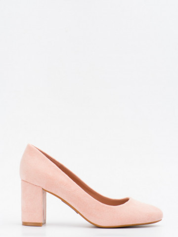 Pantofi cu toc cod LL239 Pink