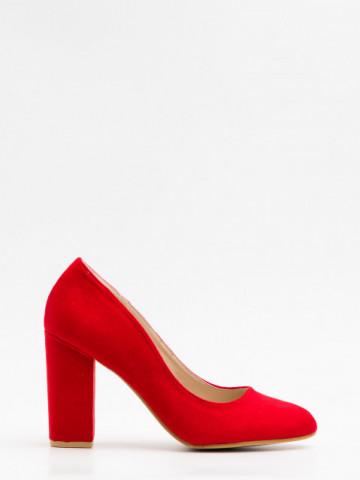 Pantofi cu toc cod LZ5810 Red
