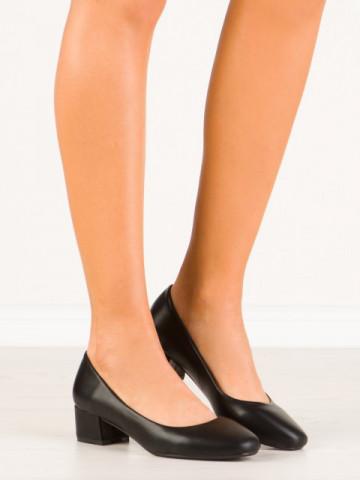Pantofi cu toc cod MM387Y Black