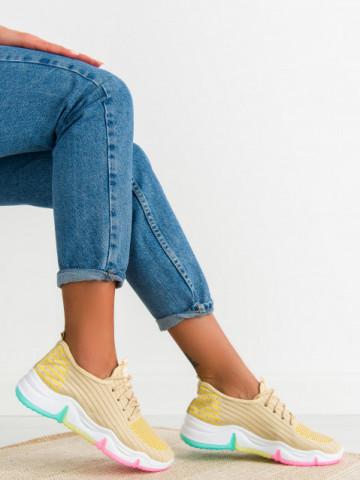 Pantofi sport cod 0115-2 Beige