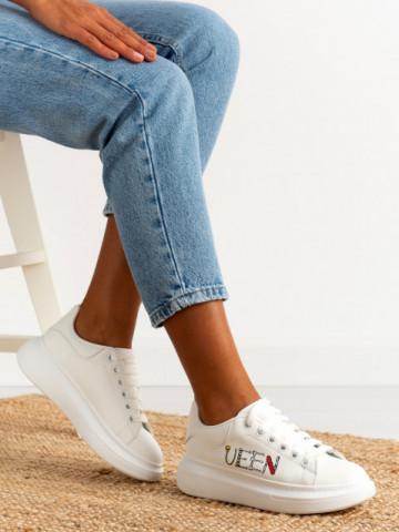 Pantofi sport cod 20C09 White