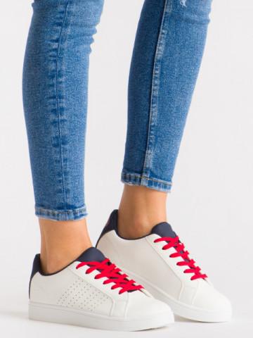 Pantofi sport cod 419 White/Blue/Red