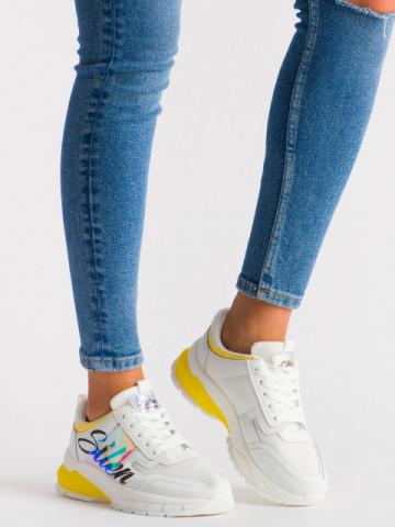 Pantofi sport cod 5818 Yellow