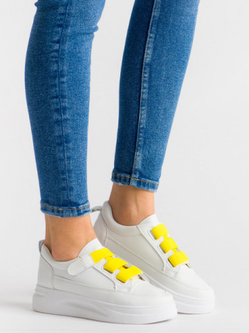 Pantofi sport cod 6903 Yellow