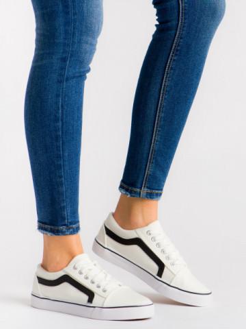 Pantofi sport cod 7897 White