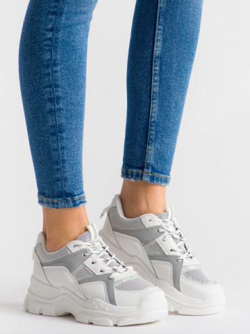Pantofi sport cod 8029 White