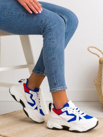 Pantofi sport cod 8073-1 Blue