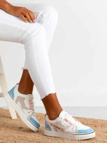 Pantofi sport cod 810 White/Pink