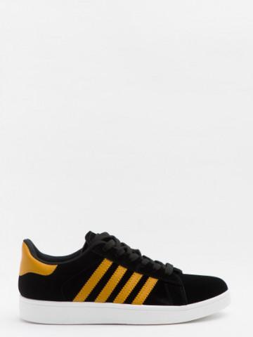Pantofi sport cod A-6 Black/Yellow