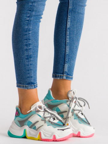 Pantofi sport cod A161 Blue
