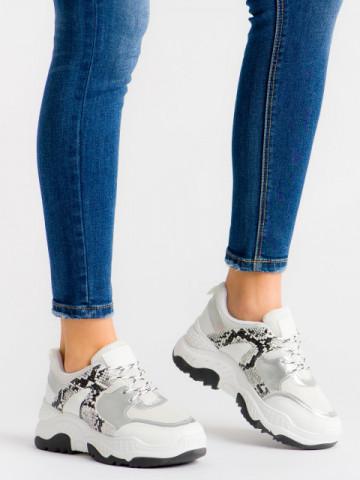 Pantofi sport cod A88-56 White